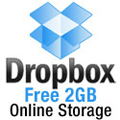Dropbox Free 2GB online storage
